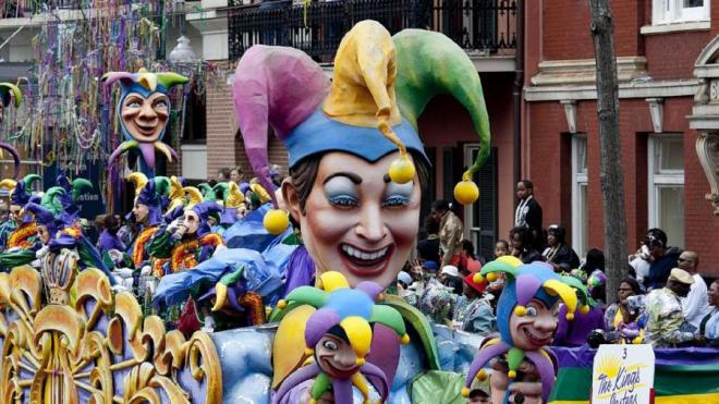 Mardi Gras Faschingsparty